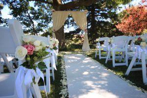 josef chromy wedding ceremony aisle decorations event avenue launceston hobart tasmania
