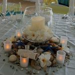 Event Avenue Launceston Leaning Church Vineyard Wedding Beach Centerpiece