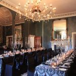 Quamby Estate wedding dinner event avenue stylist decorations Tasmania