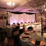 Bridal Backdrop Curtain Grindelwald Tamar Valley Resort Wedding Event Avenue