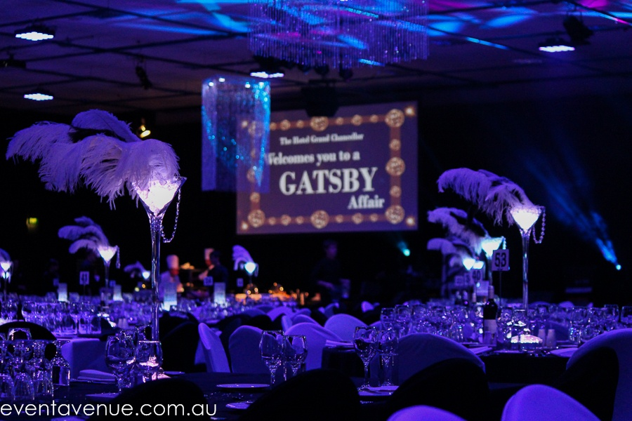 Great Gatbsy Event Theming Hotel Grand Chancellor Hobart