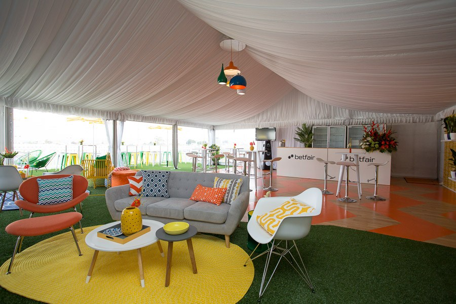 Betfair Launceston Race Day Cup Marquee styling event avenue