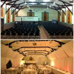 Stanley Hall Wedding Tasmania  Room Transformation draping Event Avenue