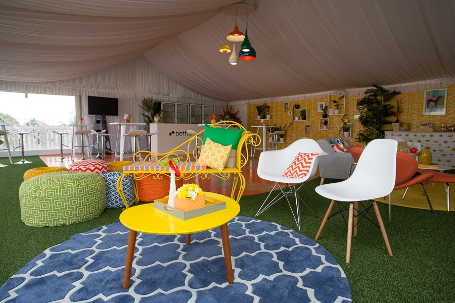 Marquee event styling race day cup Betfair