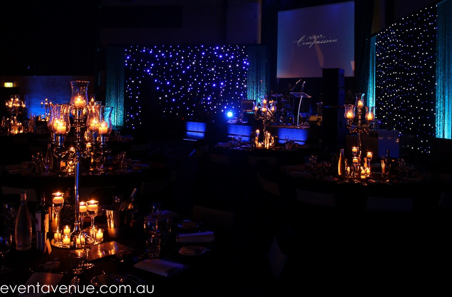 Styling Concert Dami Im event star cloth candelabras event avenue tailrace
