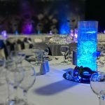 Masquerade Ball Event Styling Tasmanian Woolnorth Themed centrepiece