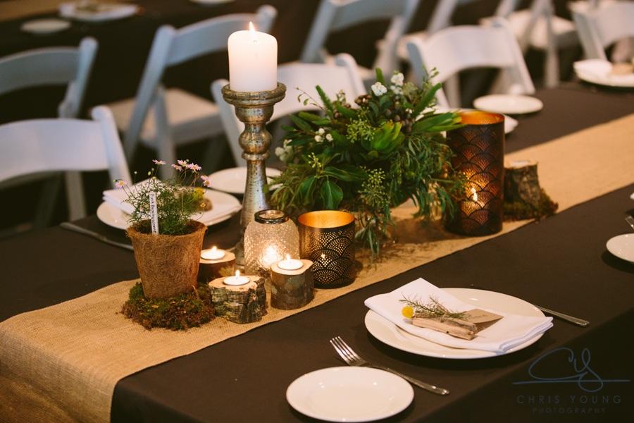 Woodland enchanted forest wedding theme event avenue tasmania