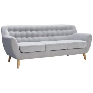 3 seater grey couch lounge hire