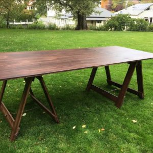 Carpenters table hire Tasmania Launceston Hobart Timber