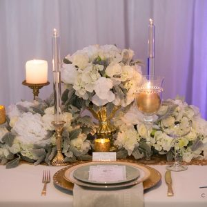 Centrepiece Low Silk Flowers
