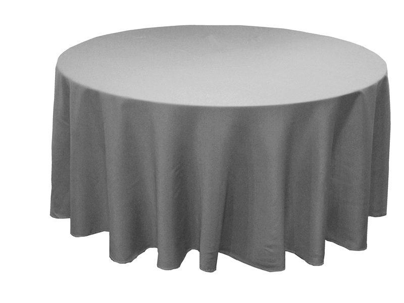 Floor Length Tablecloth Hire. 🔍. Grey Banquet Table Cloth Hire