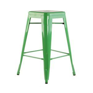 Green Tolix Stool