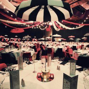 Circus theme event theming company hobart tasmania