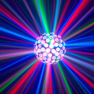 LED Mirror Ball