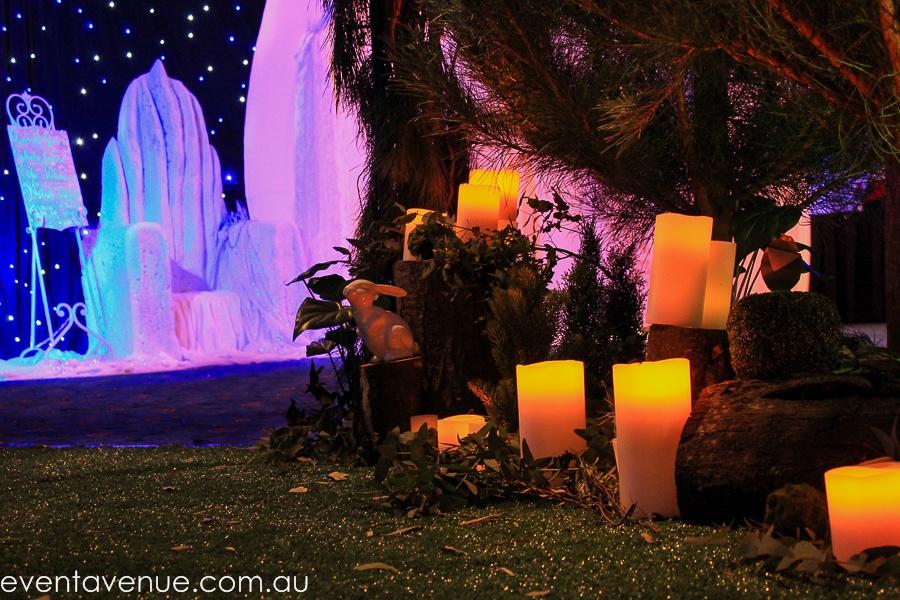Event lighting Tasmania