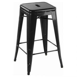 black tolix bar stool hire