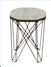 Side table Marble 32cm