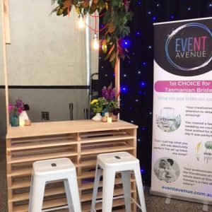 Pallet bar furniture rental