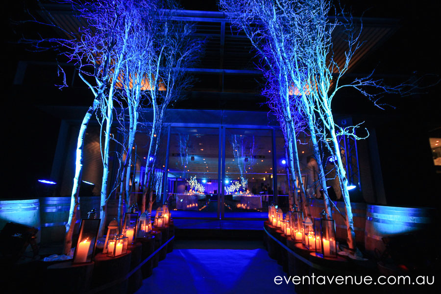 Mona AV lighting Winter Wonderland Corporate event styling