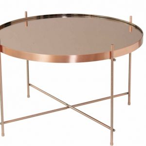Copper Side Table 65cm