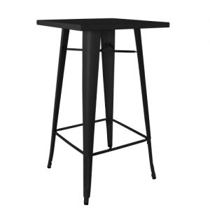 Black Tolix Bar Table