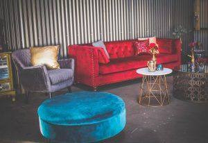 Velvet Furniture Warehouse wedding Tasmania