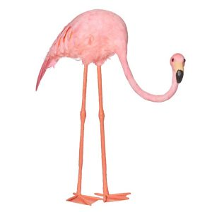 Flamingo Crouching