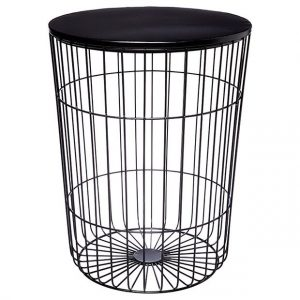 Wire Frame Side table furniture hire