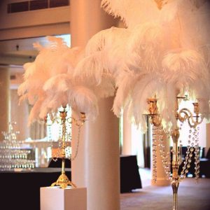 Gatsby Themed Centrepiece Hire