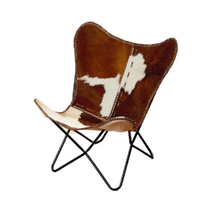 butterfly-chair-cow-print