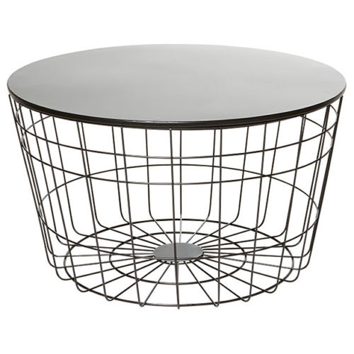 Kmart Industrial Coffee Table Round
